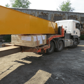 Delivery of the equipment